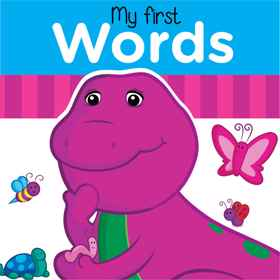 Barney Board Book - My First Words