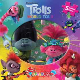 Trolls 2 - My First Puzzle Book