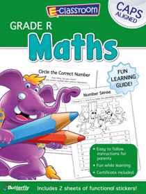 E-Classroom Workbooks - Maths - Gr R