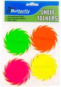 Shelf Talkers - Small Swirls 50 (70mm)