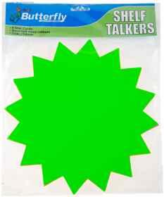 Shelf Talkers - Card Stars 8 (254mm)