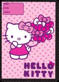 Hello Kitty - A4 Plastic Slip-On Covers 140 Micron - 5 Pack
