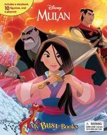 Disney Mulan - My Busy Book