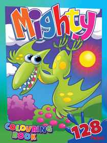 Butterfly Mighty Colouring Book 128 Page