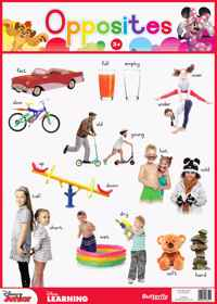 Disney Junior - Wallchart Opposites