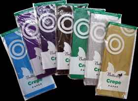 Assorted Crepe Paper - 1 Sheet (2m x 500mm)