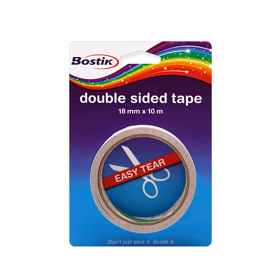 Bostik Double Sided Tape 18mmx10m