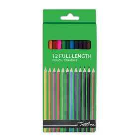 Treeline Pencil Crayons Full Length 12's