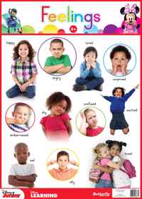 Disney Junior - Wallchart Feelings