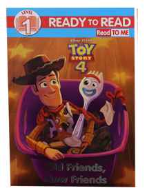 Disney Toy Story 4 - RTR Level 1 - Old Friends, New Friends