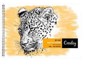 Croxley JD543 A4 40PG Sketch Book