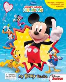 Disney MMCH - My Busy Book