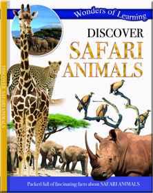 Wonders Of Learning Book - Safari Animals