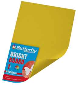 Assorted A4 Bright Board - 160gsm Singles Wrapped