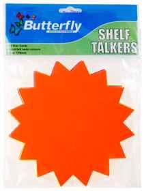 Shelf Talkers - Cut Out Stars 25 (178mm)