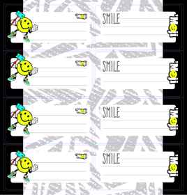 Moji - Self Adhesive Labels 16