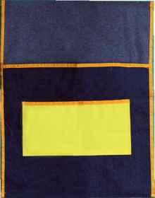 Chair Bags - Denim (440 x 485mm)