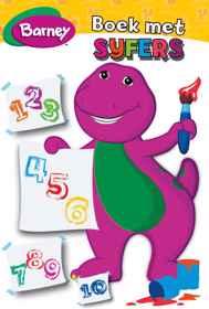Barney - Boek Met Syfers MHB