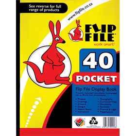 Flip File A4 40 Page Kangaroo