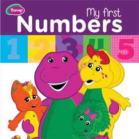 Barney Board Book - My First Numbers