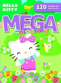 Hello Kitty - 120pg Mega Colour & Activity Book