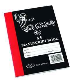Manuscript A5 96PG Hard Cover