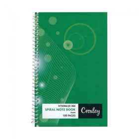 Croxley JD366 100 Page Note Book Side Bound