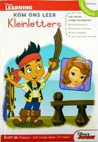 Disney Kom Ons Leer - 80pg Kleinletters