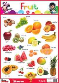 Disney Junior - Wallchart Fruit