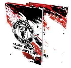 Man United - A4 Precut Book Cover - 5 Pack