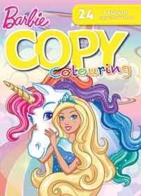 Barbie - 24pg Copy Colour Book