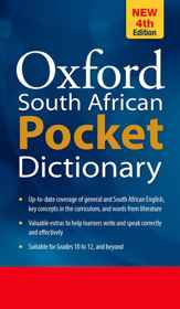 South African Oxford Pocket Dictionary 4th Edition