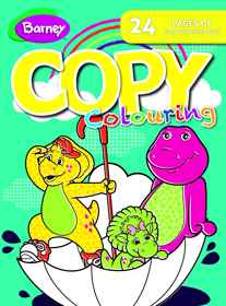 Barney - 24pg Copy Colour Book