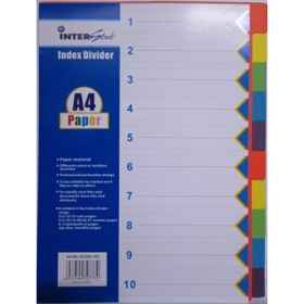 I-S 10 Tab Dividers Bright