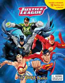 Justice League - My Busy Book