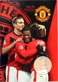 Man United - Exercise Book 72 Page