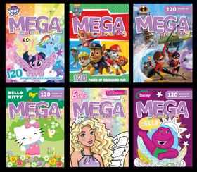 Assorted - Disney 120pg Mega Colour & Activity Book