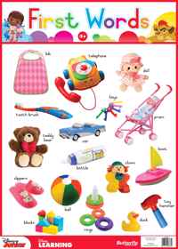 Disney Junior - Wallchart First Words