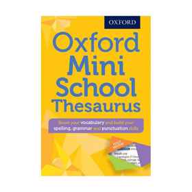 Oxford Mini School Thesaurus 5th Edition