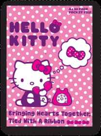 Hello Kitty - A4 Pocket File 20 Page