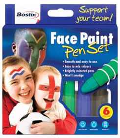 Bostik Face Paint 6x4.7g