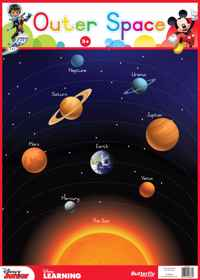 Disney Junior - Wallchart Outer Space
