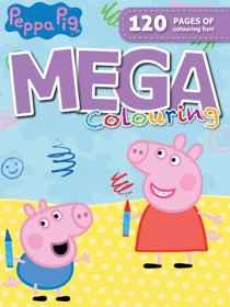 Peppa Pig - 120pg Mega Colour & Activity Book