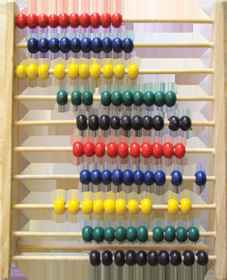 Toy Abacus Wooden - 100 Bead