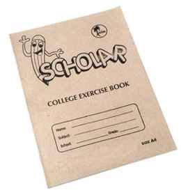 College Exercise Book A4 72PG Irish Margin