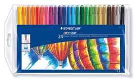 Staedtler Fibre Pens Wallet 24