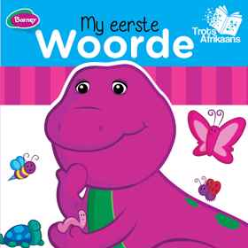 Barney Bord Boek - My Eerste Woorde