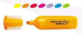 Penflex Higlo Highlighter Orange
