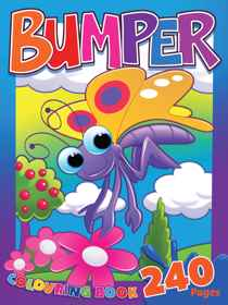 Butterfly Bumper Colouring Book 240 Page