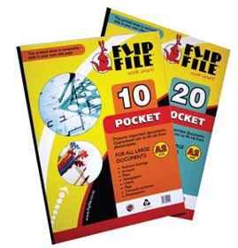 Flip File A3 10 Page Kangaroo